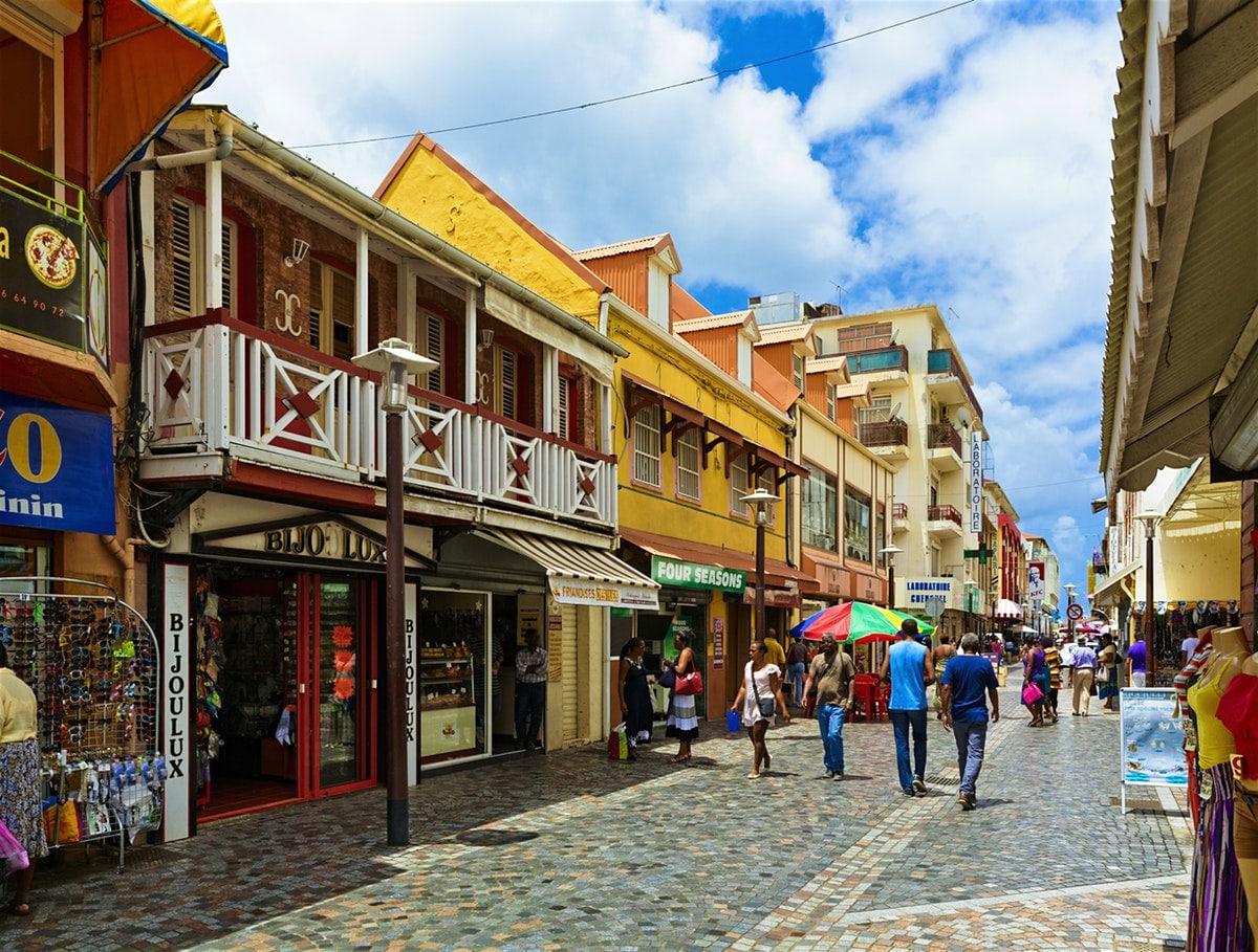 Découvrez la capitale de la Martinique